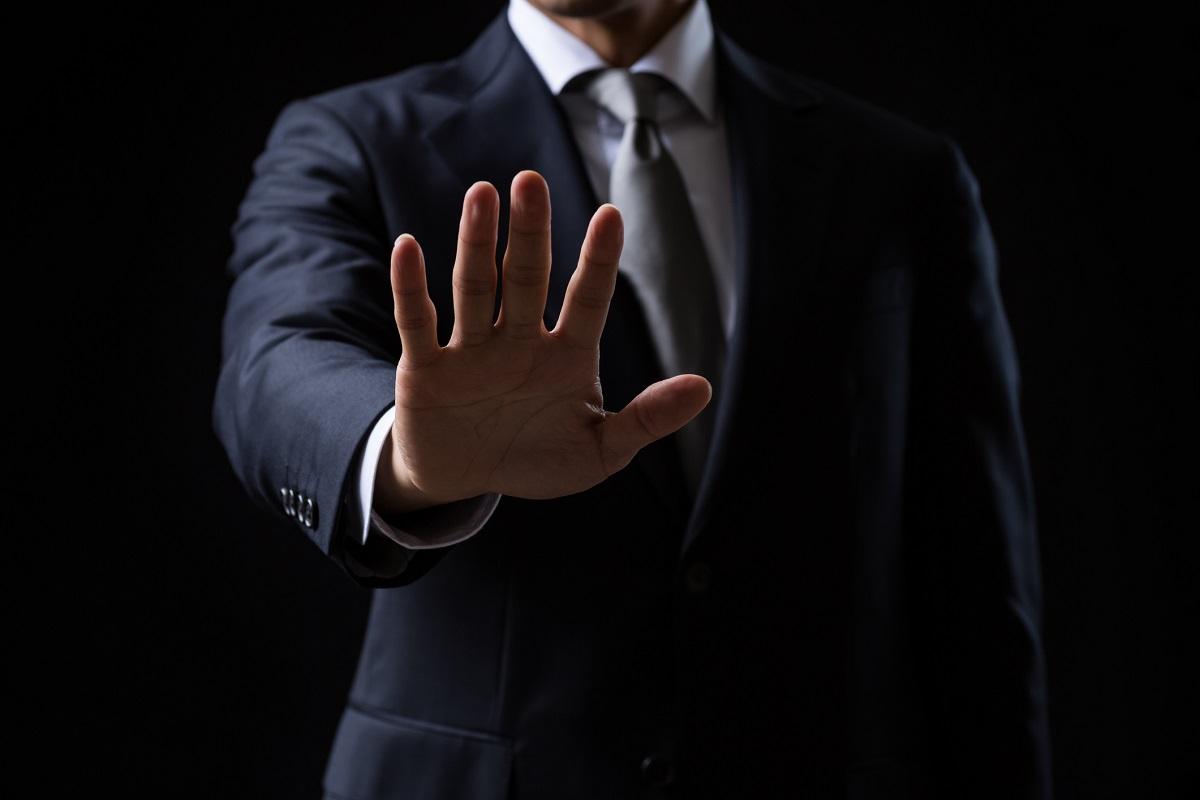 gest odmowy